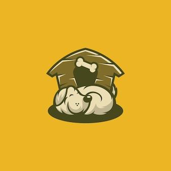 Cartone animato di casa del cane