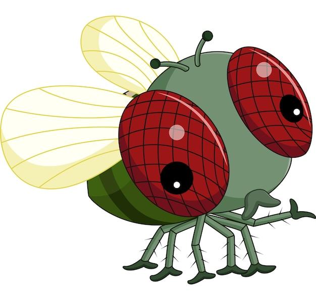 Cartone animato di mosche
