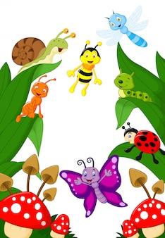 Cartone animato di piccoli animali