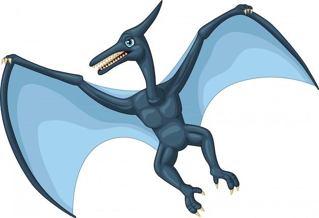 Cartone animato di pterodattili