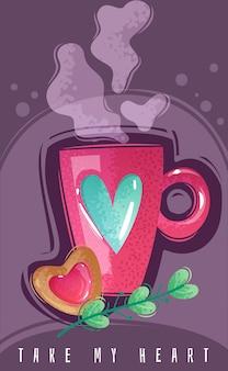 Cartone animato di san valentino