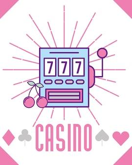 Cartone animato gioco di slot machine blackpot