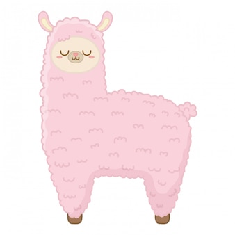 Cartone animato kawaii di lama