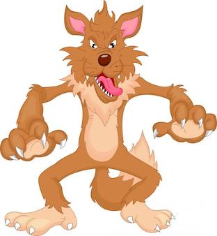 Cartone animato lupo