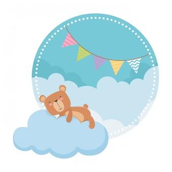 Cartone animato orsacchiotto