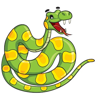 Cartone animato serpente