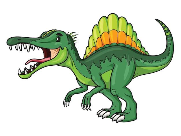 Cartone animato spinosaurus