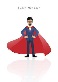 Cartone animato super manager