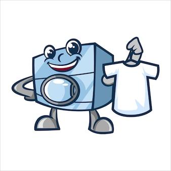 Cartone animato super wash o wahing machine