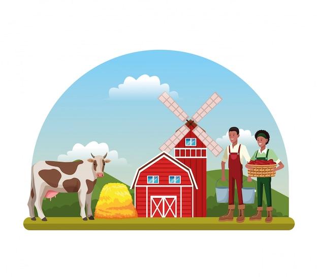 Cartoni agricoli rurali