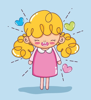 Cartoni animati di belle ragazze