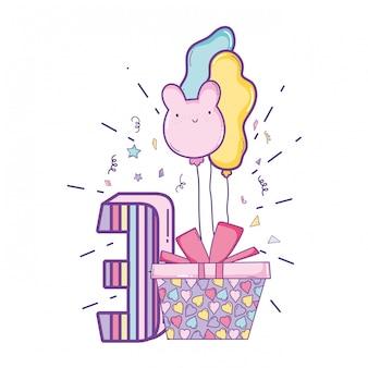 Cartoni animati di compleanno per bambini