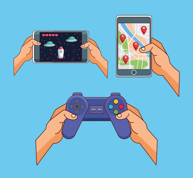 Cartoni animati di giochi per smartphone