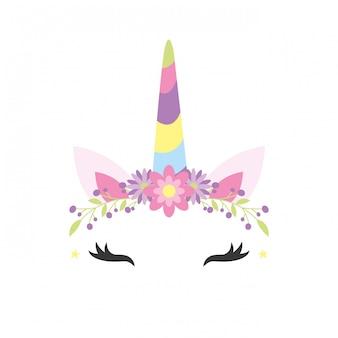 Cartoni animati fantasia unicorno