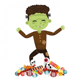 Cartoni animati per bambini e halloween