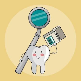 Cartoni per cure odontoiatriche