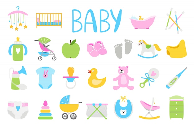 Cartoon baby set
