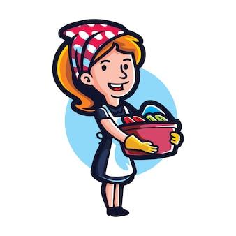 Cartoon best maid