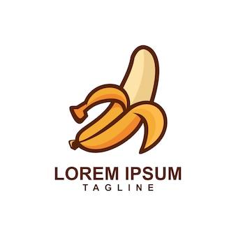 Cartoon fruit mango logo
