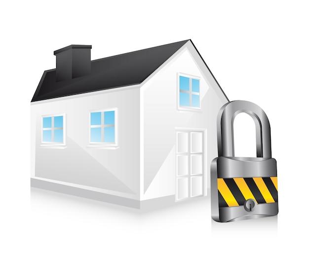 Casa di sicurezza, casa con lucchetto