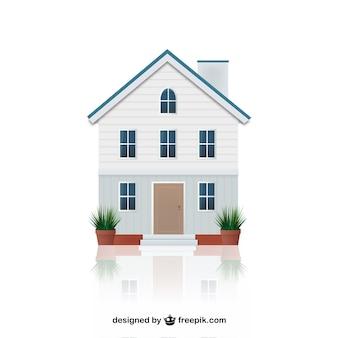 Casa illustrazione