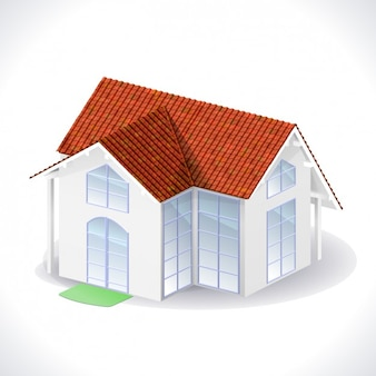 Casa realistico in 3d