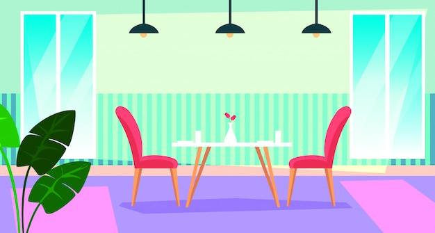 Casa scena interna con sala da pranzo