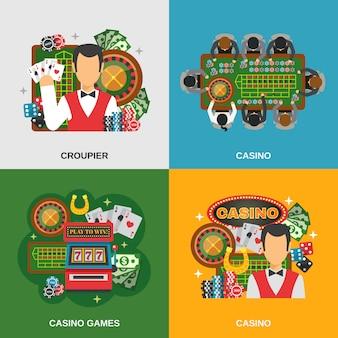 Casino concept set