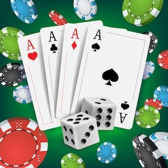 Casino poker design