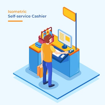 Cassa isometrica self service