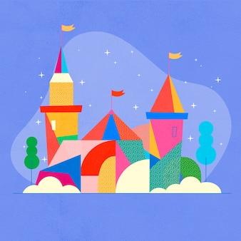 Castello magico da favola