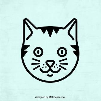 Cat arte vettoriale free download