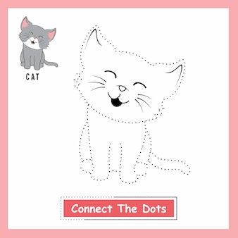 Cat connect the dots