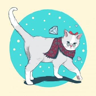 Cat winter