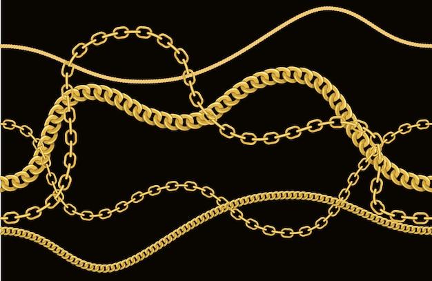 Catene, corde e cinture.