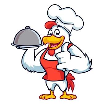 Catering di pollo allo chef