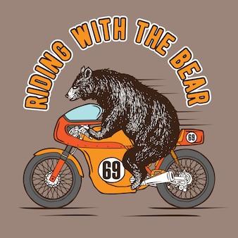 Cavalcando con l'orso