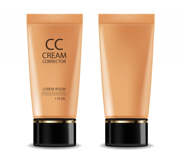 Cc cream foundation illustration