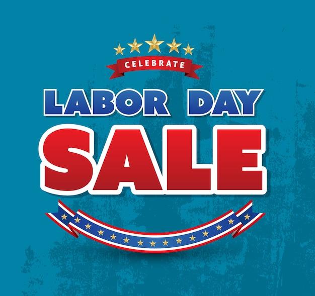 Celebra il poster di vendita del giorno di lavoro