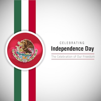 Celebrando il giorno dell'indipendenza del messico