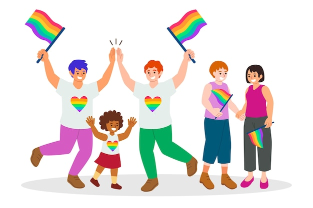 Celebrazione del giorno dell'orgoglio