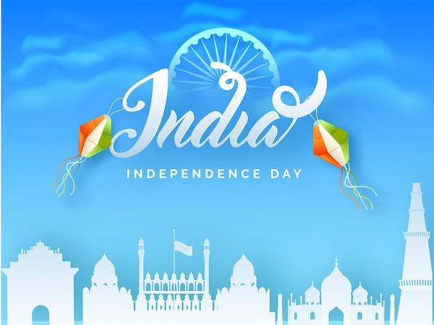 Celebrazione della festa dell'indipendenza indiana