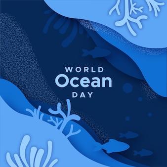 Celebrazione della giornata mondiale degli oceani