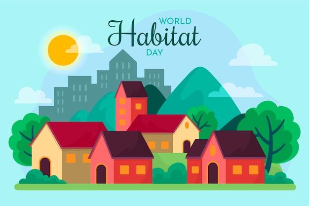 Celebrazione della giornata mondiale dell'habitat