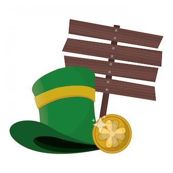 Celebrazione irlandese del giorno di san patrizio