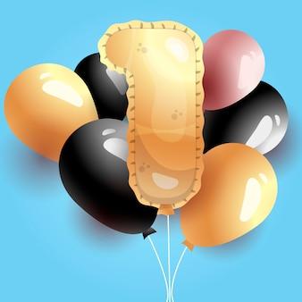 Celebrazione primo 1 ° compleanno