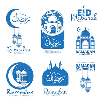 Celebrazione santa del ramadan kareem