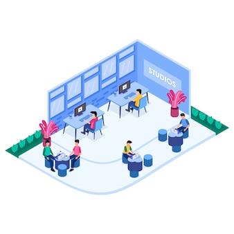 Centro di collaborazione creative office