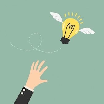 Cercando di catturare un'idea