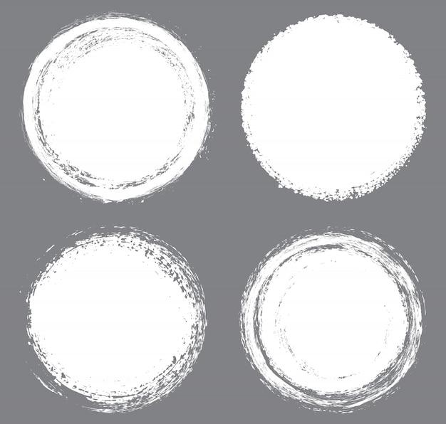 Cerchi bianchi del grunge